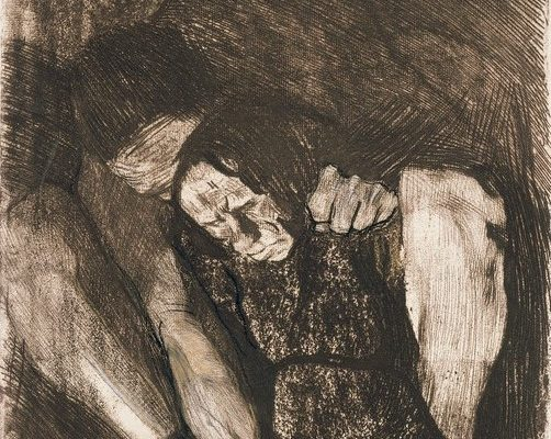 Kollwitz and the Powerful Peasant