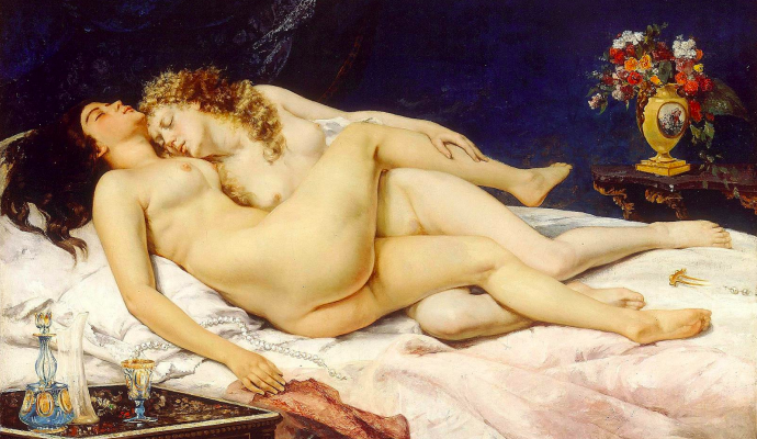 Lovers, Sleepers and the Bliss of Female Desire