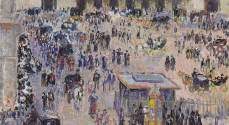 A Train Station in Paris Connects Impressionism with Anarchist Politics